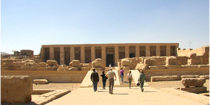 "Over-day trip to ""Dendara""  and ""Abydos"""