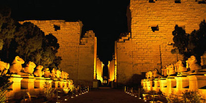 "The spectacular ""Sound & Light"" show at the Karnak"
